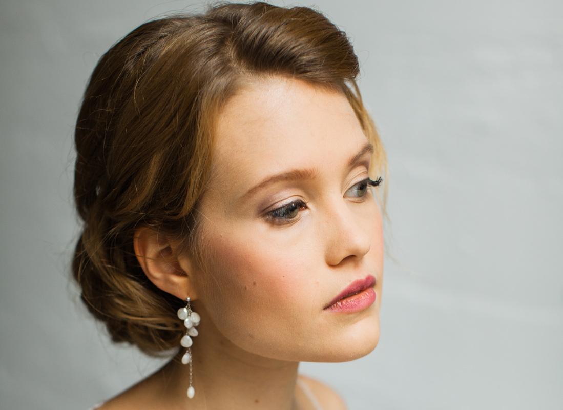 nora, makeup artist & hair stylist - nika vaughan, bridal artists